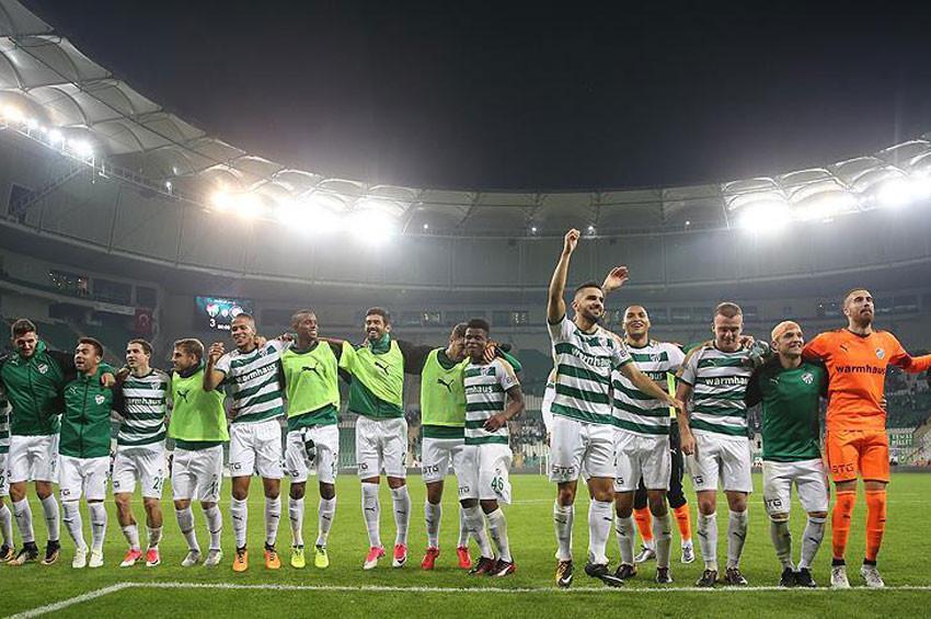Bursaspor: 3 - Osmanlıspor: 1