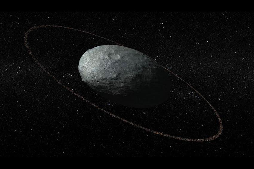 Halkalı Cüce gezegen keşfedildi