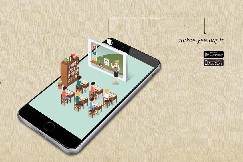 Uzaktan Öğretim Portalı Dünyaya Türkçe konuşturuyor