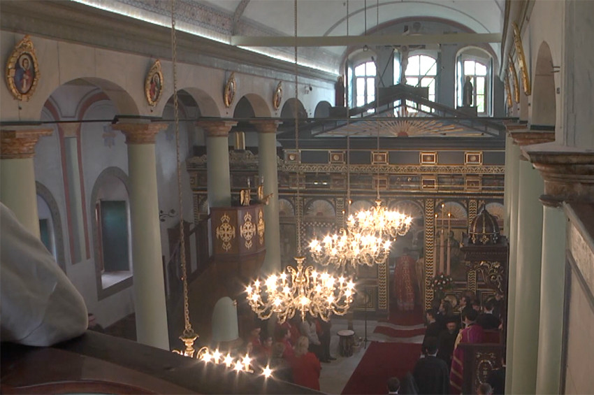 Ayayorgi Kilisesi yeniden ibadete açıldı