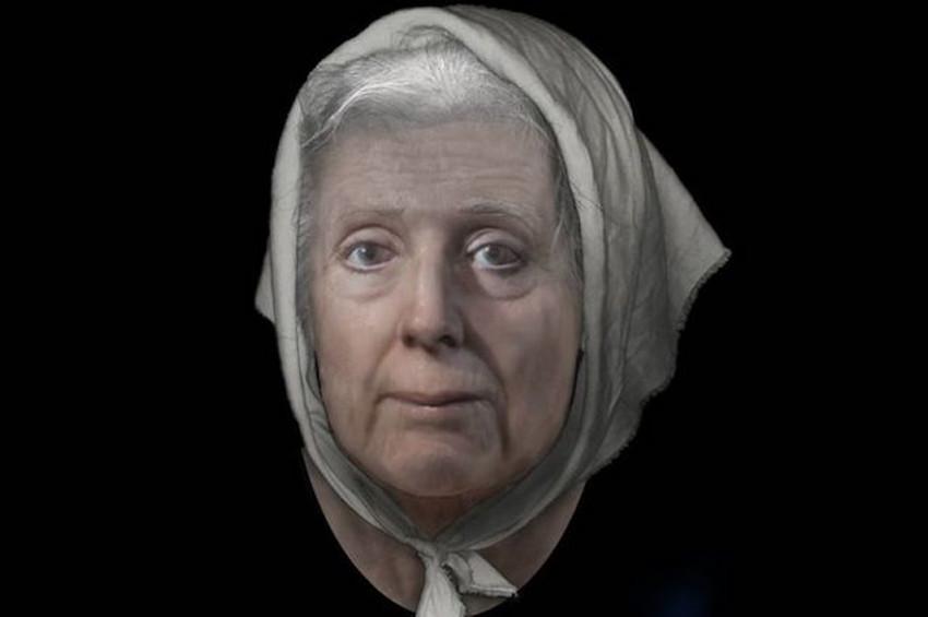 İskoç Cadısının yüzü teknoloji ile canlandırıldı