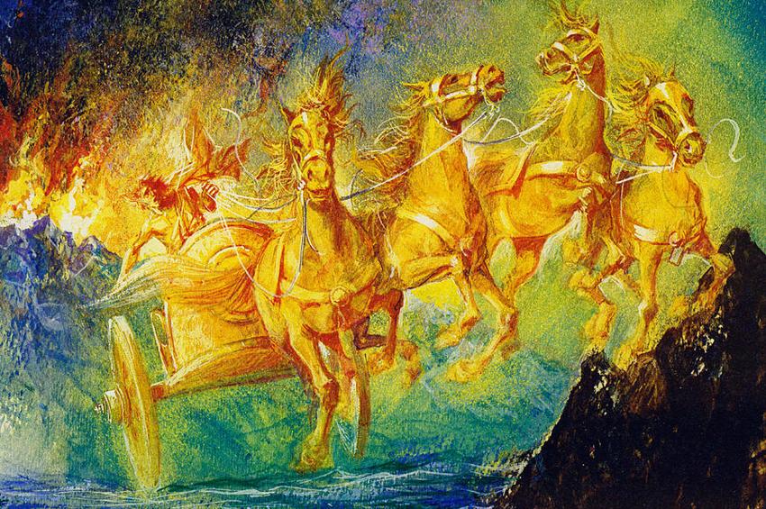 Phaethon 'un Yolculuğu miti