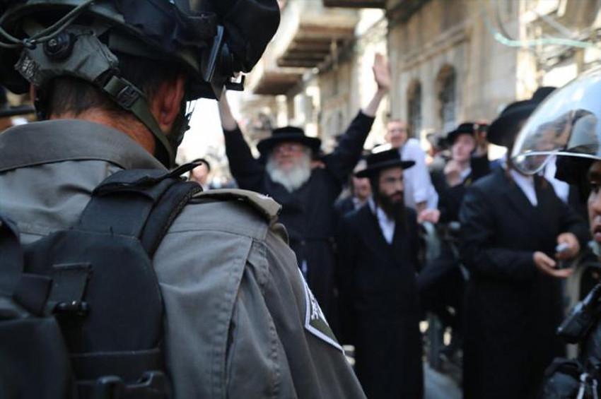 İsrail polisi, Haredi Yahudileri ile çatıştı