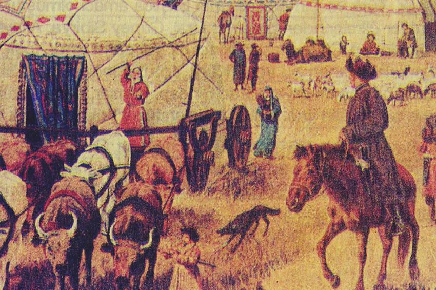 Türklerin en eski Türeyiş destanı kaydı