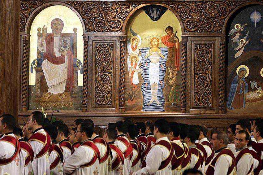 Ortadoğunun en büyük Ortodoks katedrali açıldı
