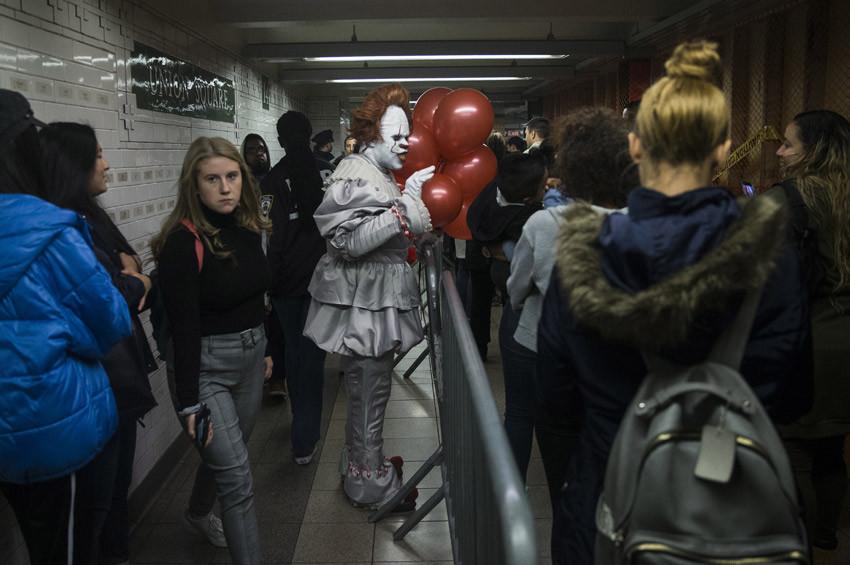 New York metrosu korku tüneline dönüştü