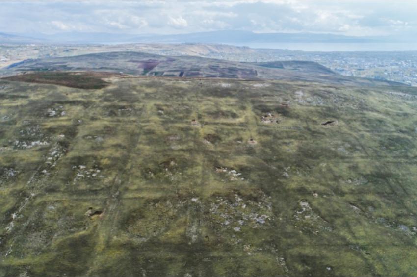 Vanda 2000 yıllık toplu konut alanı bulundu