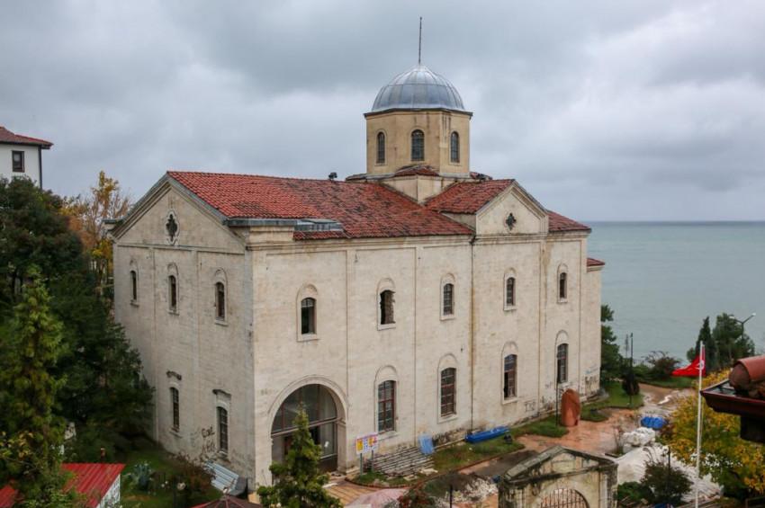 Ordudaki Taşbaşı Kilisesi kent müzesi oluyor