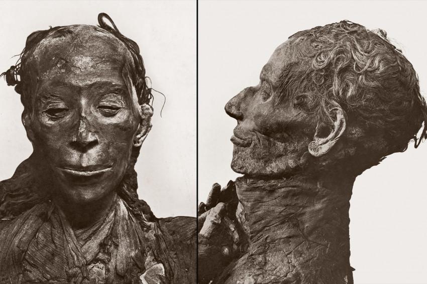 Yuya ve Tuya mumyaları Mısır Müzesinde sergilendi