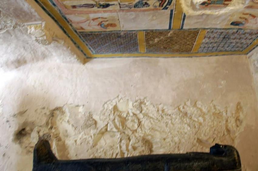 Mısırda mumyacı rahip mezarı bulundu
