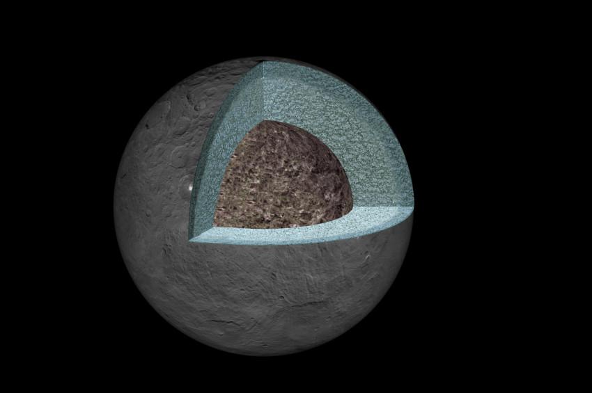 Ceres organik madde açısından zengin olabilir