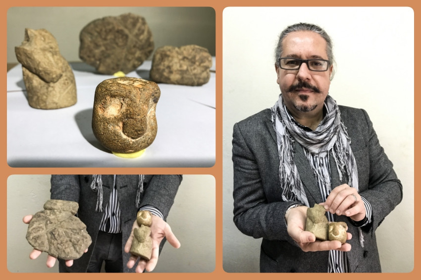 İstanbulda Taş Devri eserleri bulundu