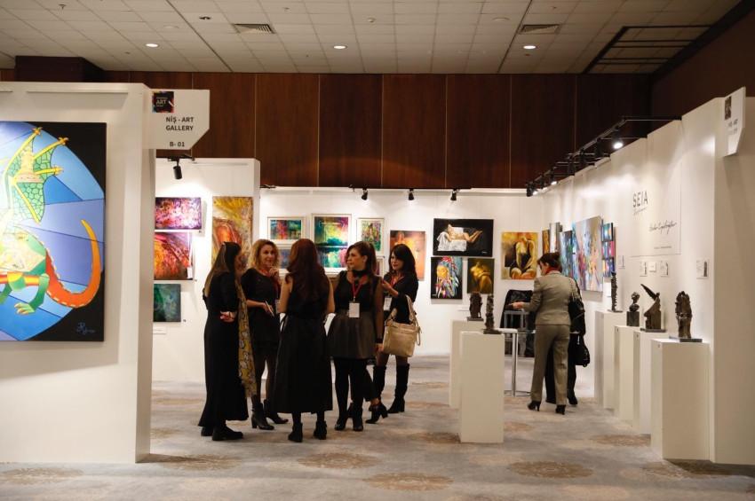 İstanbul Art Show başladı