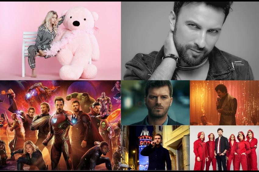 DORinsight verilerine göre Müzik ve TVde Yılın Enleri