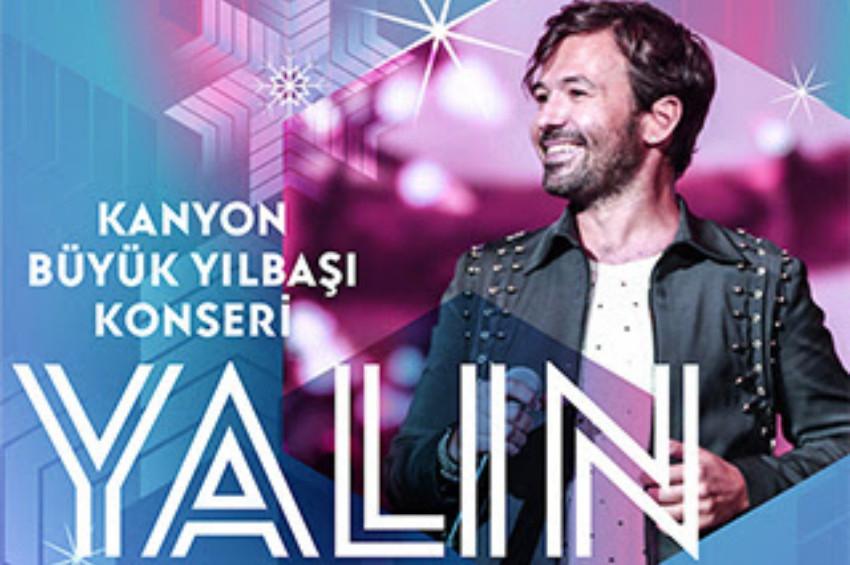 Kanyon AVMde ücretsiz Yalın konseri 28 Aralıkta