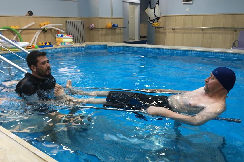 Zeytinburnu Belediyesinden ücretsiz hidroterapi