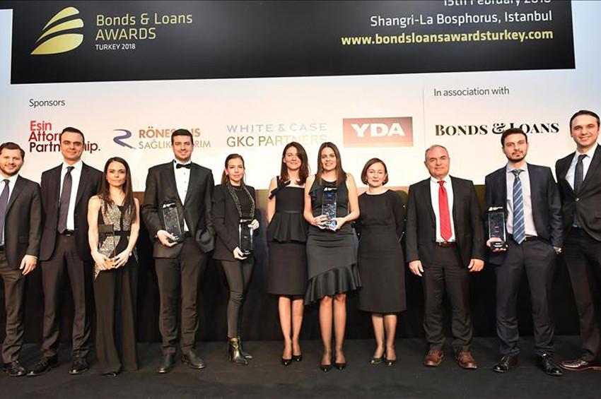 2018 Türkiye Bonds & Loans Ödülleri verildi