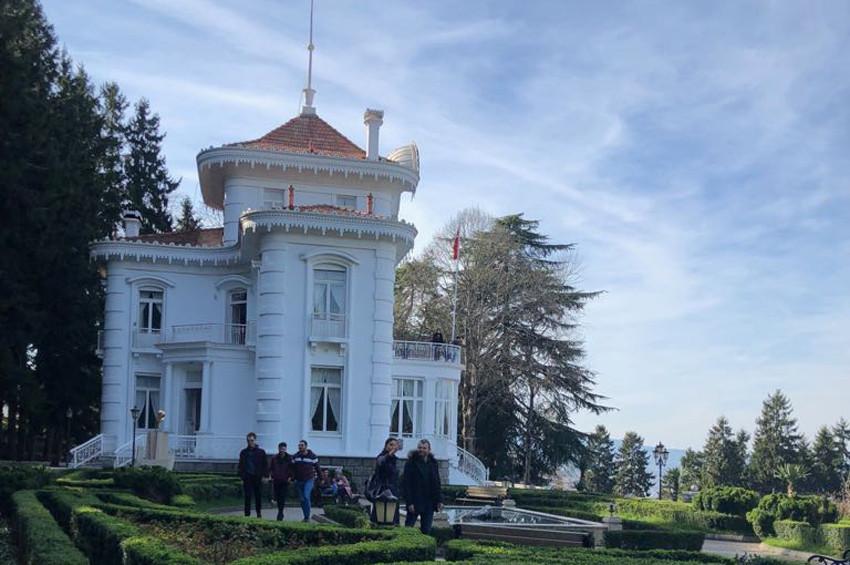 Trabzon Atatürk Köşküne ziyaretçi akını