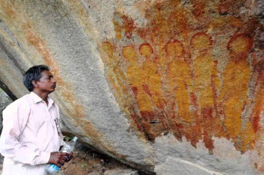 Hintli Arkeologlar, uzaylı çizimleri için NASAdan yardım istedi