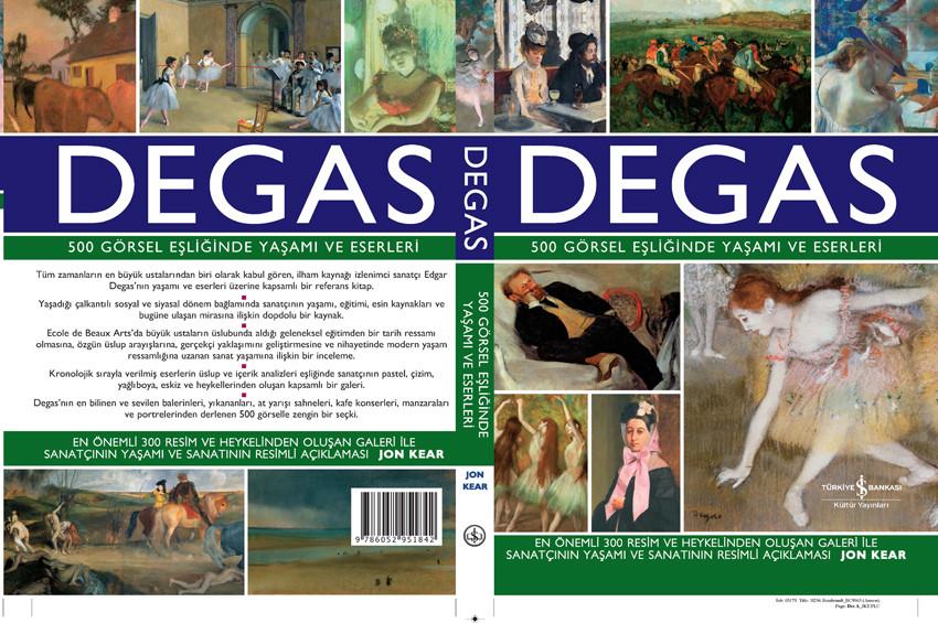 Degas'nın eserlerine ve yaşamına kapsamlı bakış