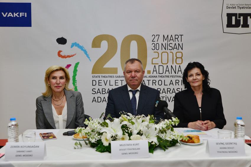 Adana Tiyatro Festivali 27 Martta başlayacak