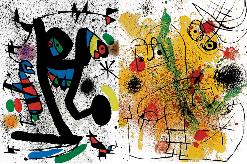 Joan Miró'nun 300'ü aşkın eseri İstanbula geliyor