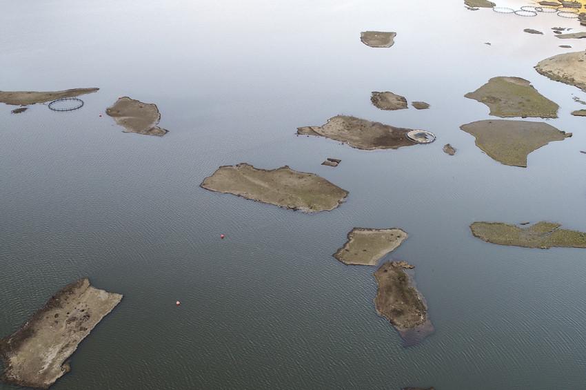 Çelikhandaki Yüzer Adalar