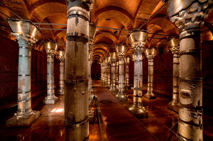 İstanbulun 1600 yıllık sarnıcı açıldı