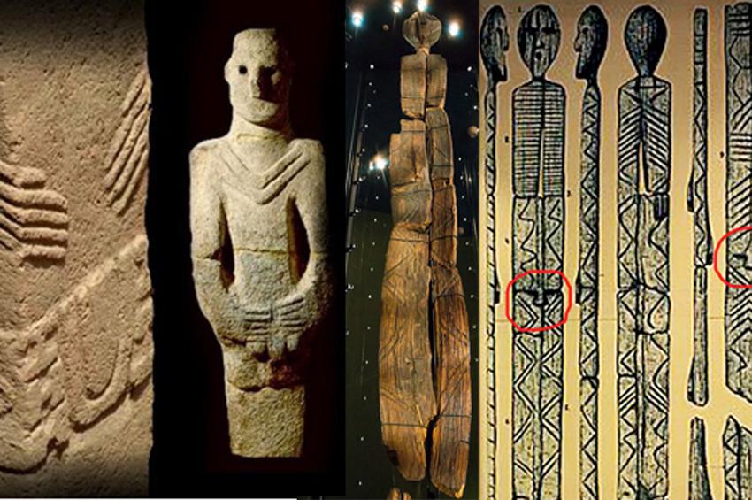 Shigir İdolü ile Göbeklitepe taşları benzerlik içeriyor