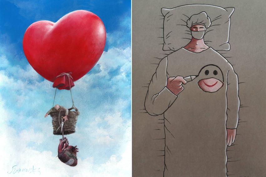 Organ Bağışı karikatürleri ödüllendirildi