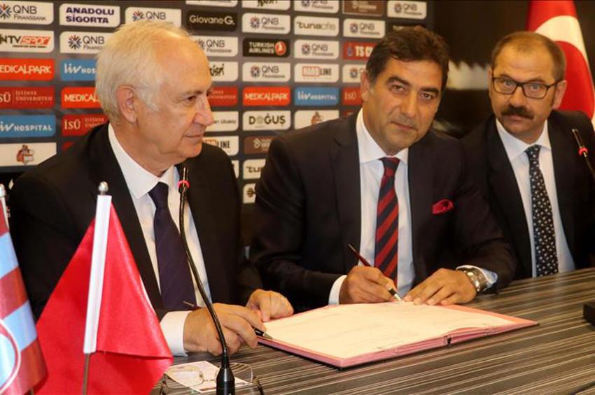 Trabzonsporun yeni teknik direktörü Ünal Karaman