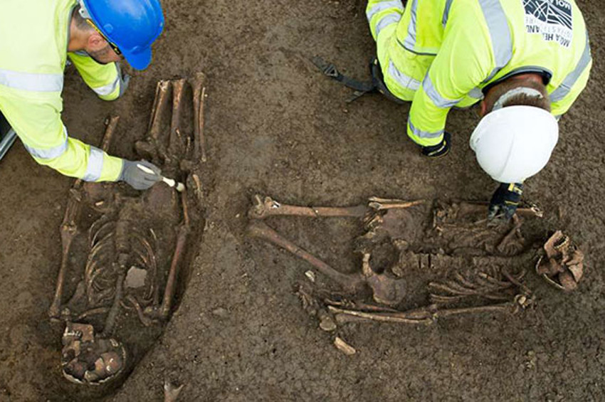 İngiltere'de 2 bin yıllık yaşayan ölü korkusu