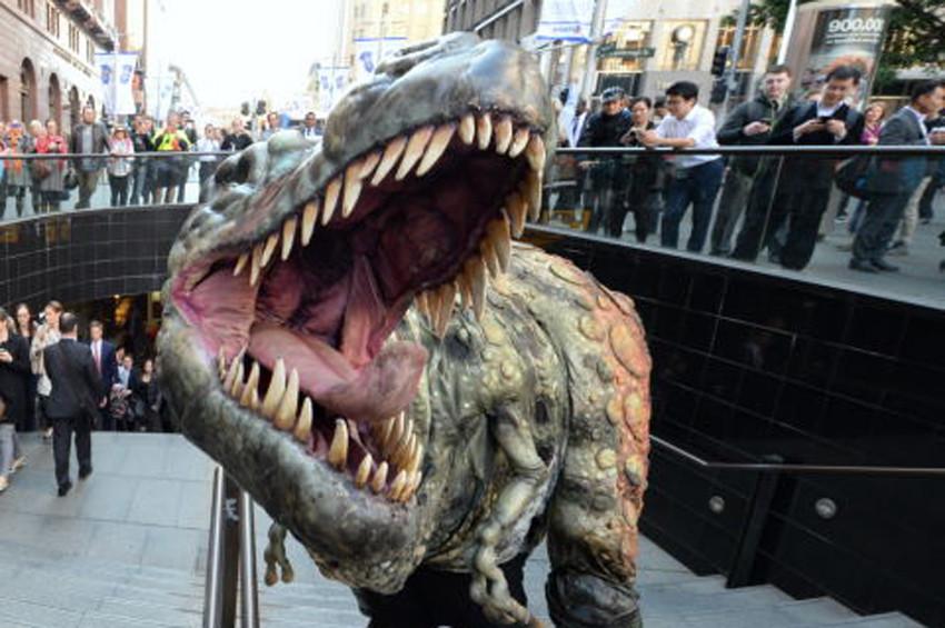 Dinozorlar dillerini dışarı çıkarmıyordu