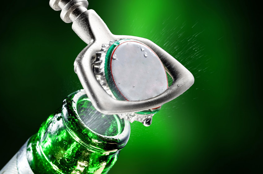 Şişedeki maden suyu ve soda göze zararlı olabilir