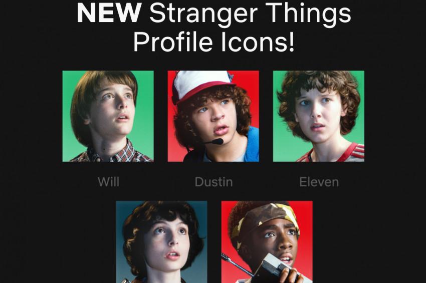 Netflixin profil simgeleri yenilendi