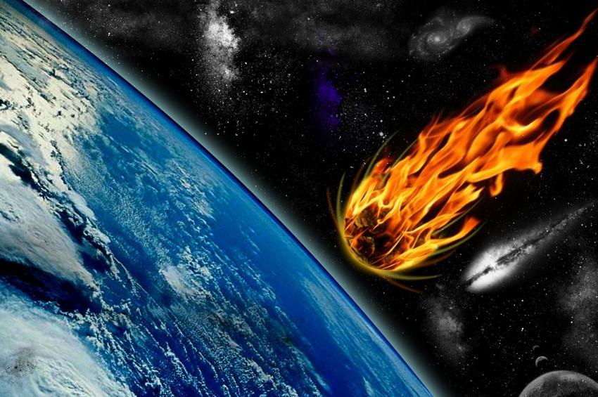 Grönlandda patlayan meteoru gören bilen yok!