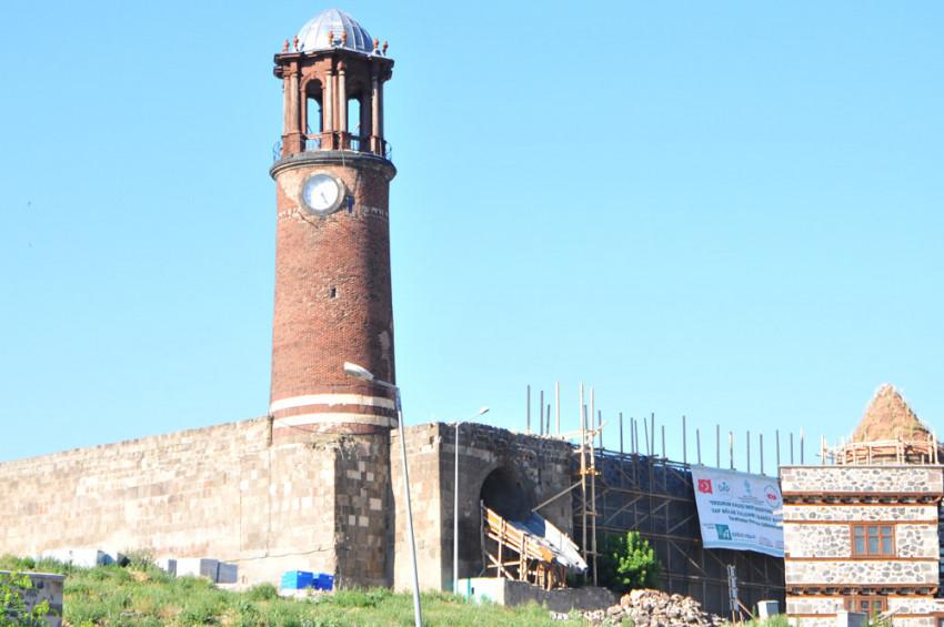 Erzurumun Tepsi Minaresi restore edilecek
