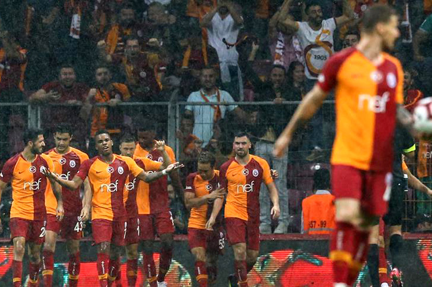 Galatasaray: 4  Kasımpaşa: 1