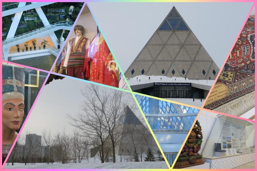Kazakistan Piramidi: Barış ve Uyum Sarayı