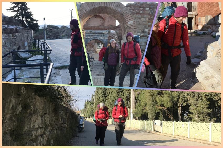 Sufi Yolundan İstanbuldan Konyaya gidiyorlar
