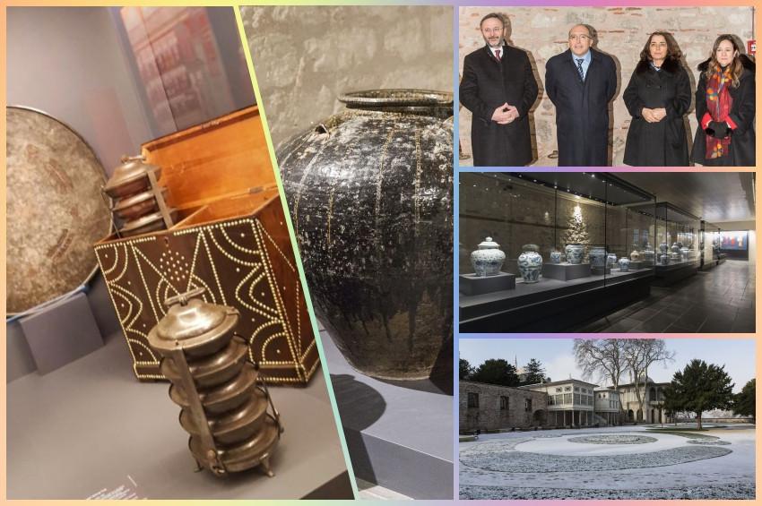 Topkapı Sarayının restore edilen bölümleri açıldı
