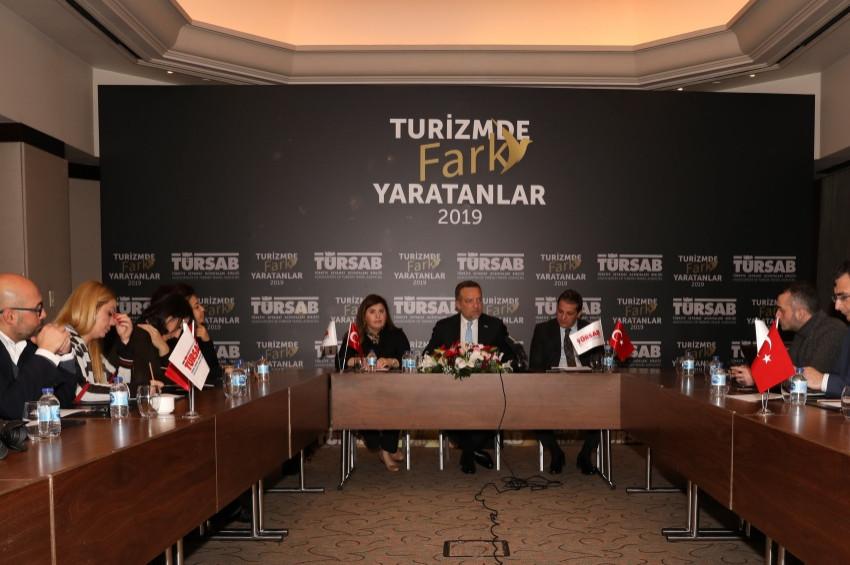 TÜRSAB Turizmde Fark Yaratanlar ödülleri verecek