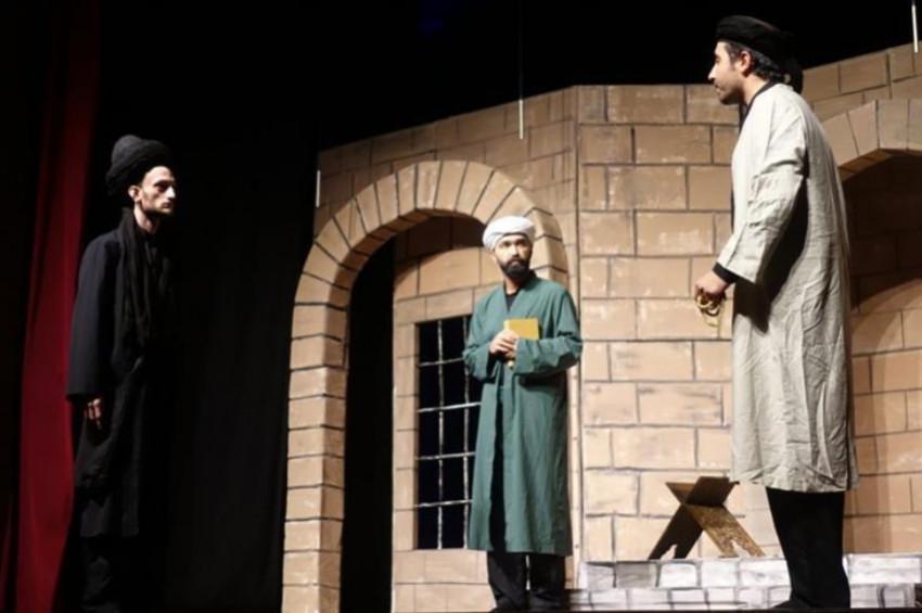 Şems ile Mevlana tiyatro oyunu seyirciyle buluştu