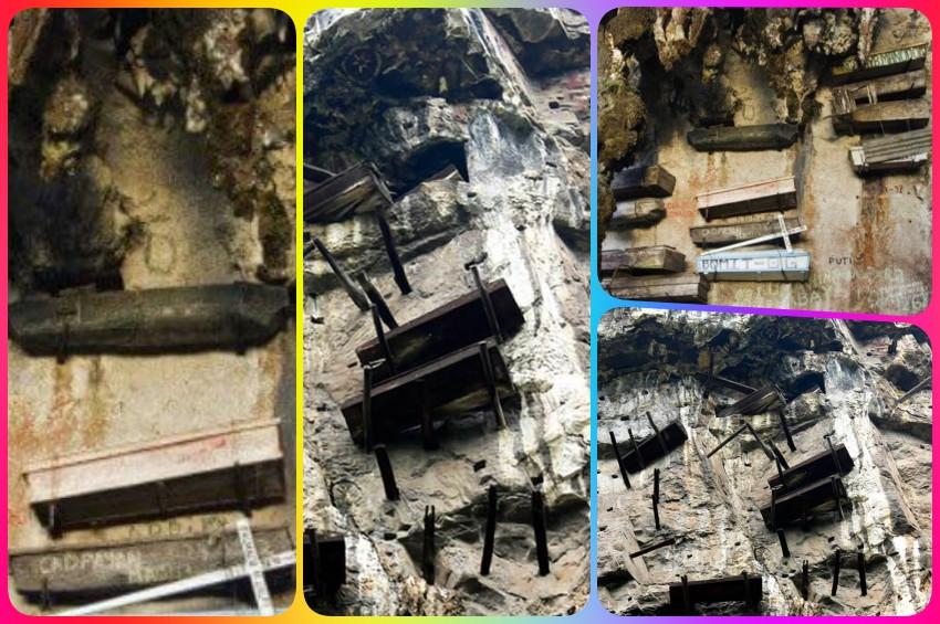 Havada Asılı Mezarlıklar şaşırtıyor