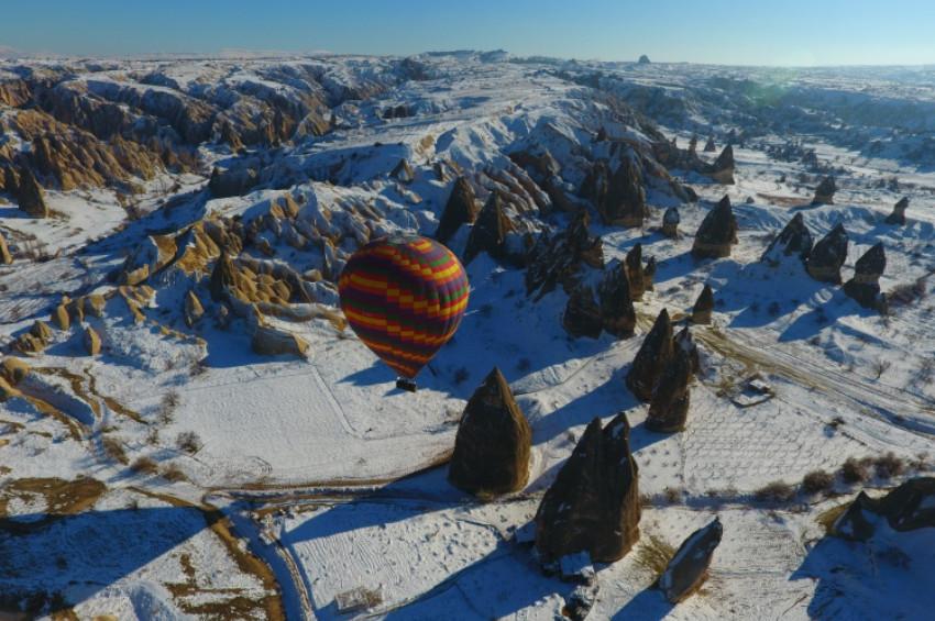 Yarıyıl tatilinin gözde üçlüsü  Kapadokya, Erciyes ve Kozaklı