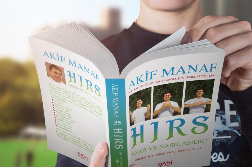 Akif Manaf'ın Hırs adlı kitabı yayınlandı