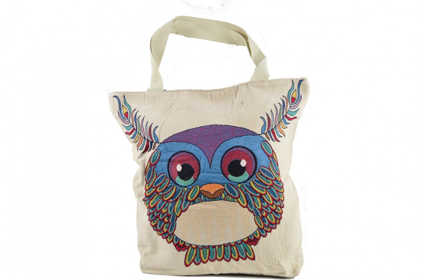 Alışverişe gidenler poşet yerine bez çantaya alıştı!