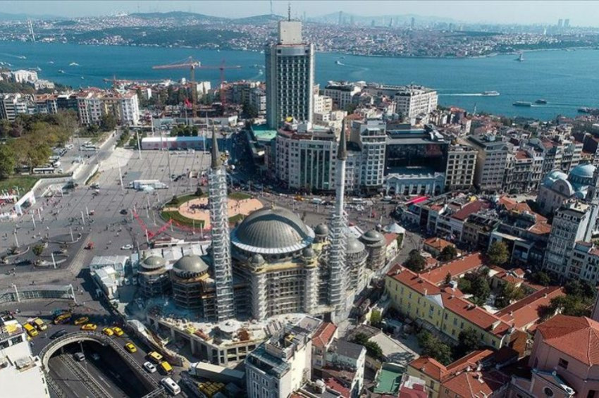 Taksim Camisi açılış için gün saymaya başladı
