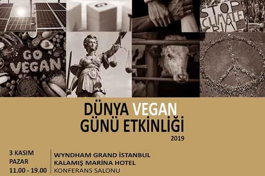 3 Kasım'da Dünya Vegan Günü Wyndham Grandda kutlanacak