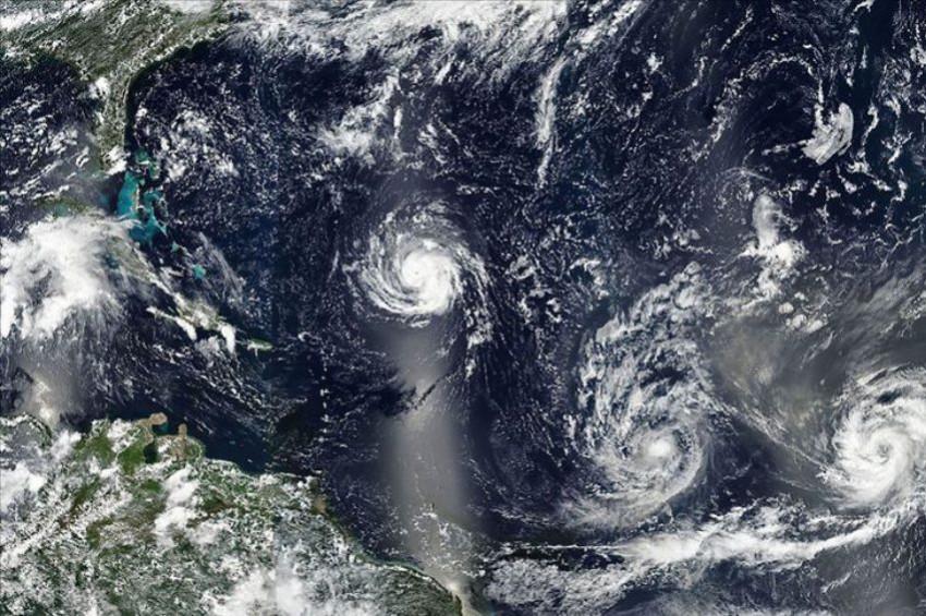 Kasırgaların sayısı yüzde 330 arttı